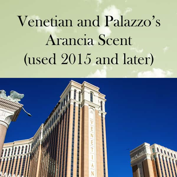 Venetian's Arancia (2015 and after)