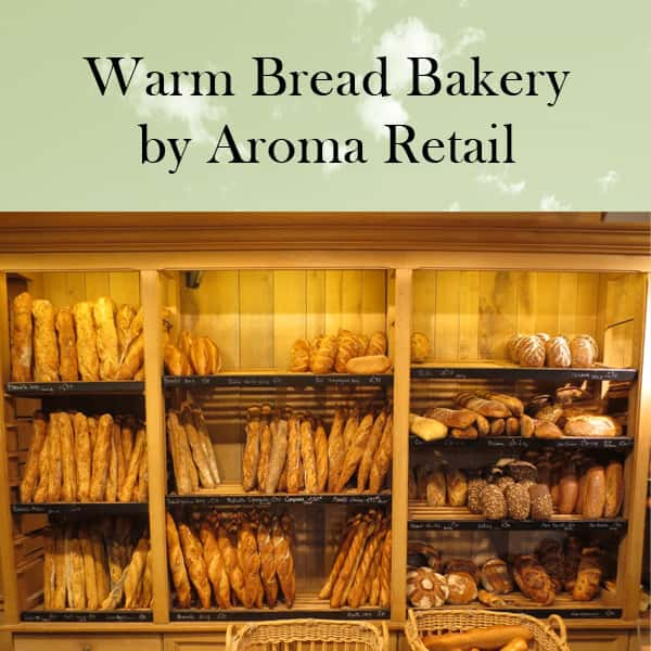 Warm Bread Bakery by Aroma Retail Fragrance Oil